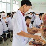 quy định tuyển sinh vào các trường khối ngành sức khoẻ