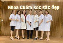 khoa chăm sóc sắc đẹp trường cao đẳng y hà nội