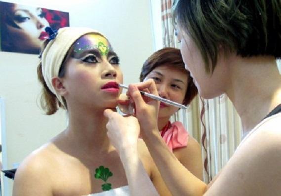 Nghề chăm sóc sắc đẹp được đưa vào kỳ thi tay nghề Asian lần thứ 10
