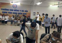 tân sinh viên k20 nhập học