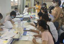 xác nhận hồ sơ nhập học của thí sinh