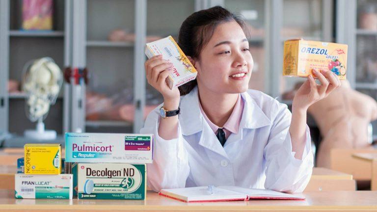 Định hướng phát triển ngành nghề Dược cho sinh viên