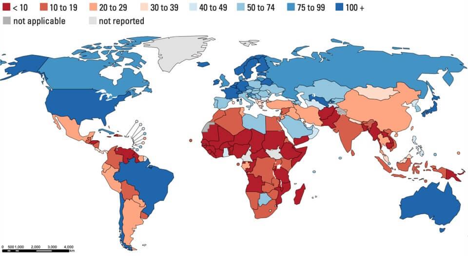 Chưa có đủ số lượng điều dưỡng tương xứng với mục tiêu bao phủ chăm sóc sức khỏe toàn dân và các mục tiêu phát triển bền vững (SDGs).
